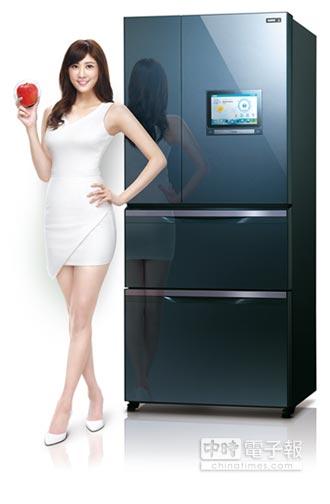 智慧PAD冰箱 體驗居家新美學