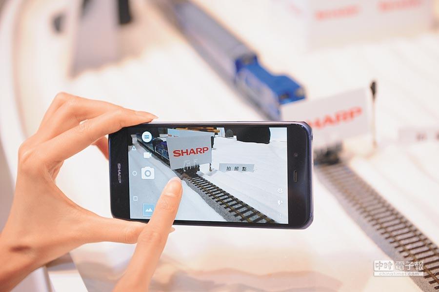SHARP AQUOS P1具備業界最快0.02秒極速對焦,2260萬畫素高階相機,可滿足消費者對於拍照的極高要求。圖片提供康法科技