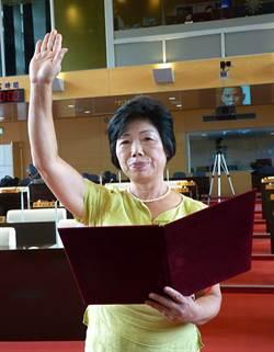 林汝洲當選無效 劉淑蘭遞補中市議員今就職
