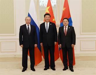 外蒙古在中共與美國博奕中扮演的角色