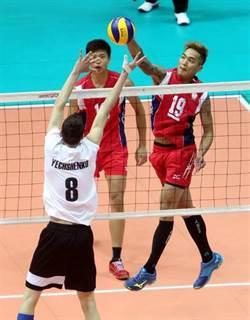 亞青男排賽 中華無緣8強