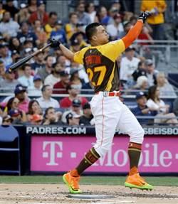 MLB》61轟破紀錄 史坦頓全壘打大賽奪冠