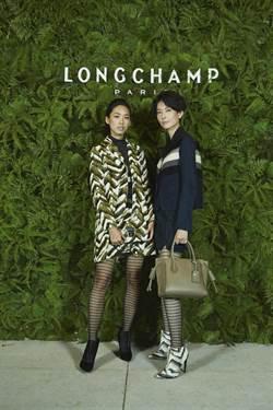 林可彤化身Longchamp森林女神 隔空對男友喊話