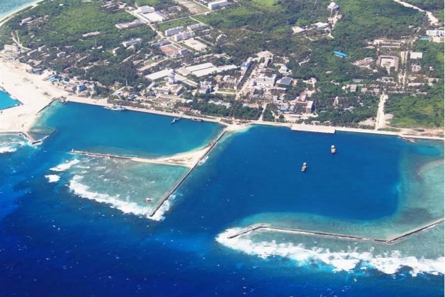 2012年中國大陸三沙市人民政府在永興島正式掛牌成立。永興島是西沙群島也是整個南海諸島中最大的島嶼。(資料照片 新華社)