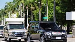 總統特勤先遣車隊趕場 遇民眾急煞追撞