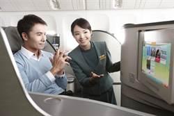 全球最佳航空調查出爐 長榮獲第8名