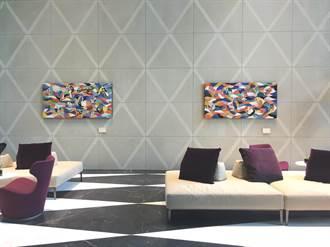 台中7期「麗格」接待會館化身現代藝廊