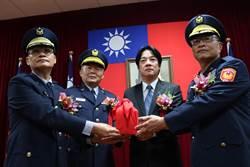 黃宗仁就任台南市警局長:堅守治安佳績