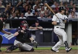 MLB》洋基貝爾川1500分打點 左右開弓史上第4