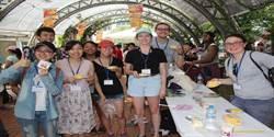 台南芒果節登場 30位美籍大學生擔任志工