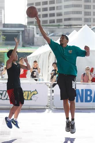 NBA》驚艷台灣籃球盛行 羅伯生:我一定再來