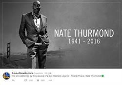 NBA》勇士傳奇中鋒瑟蒙德辭世 享年74歲