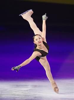安麗雅芝冰上盛典 林仁語獻處女秀