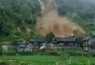 湖南暴雨釀山崩 至少70遊客受困