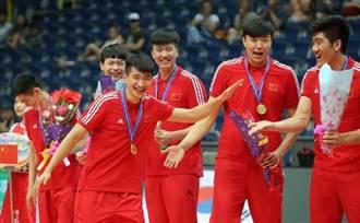 亞青男排》中國力拚5局驚險封王 隊史第4冠