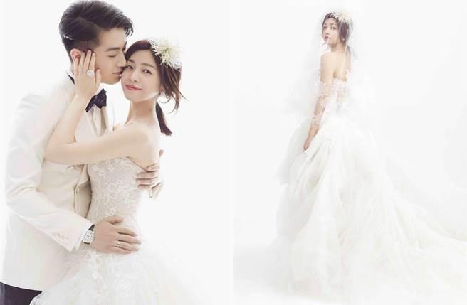 陳妍希與陳曉的婚紗照相當浪漫唯美。(圖/祖與占公司提供)