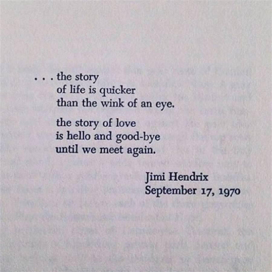 黛安克魯格利用已逝傳奇搖滾樂手吉米罕醉克斯臨終前的一首詩吐露情變心聲。(圖/翻攝自黛安克魯格IG)