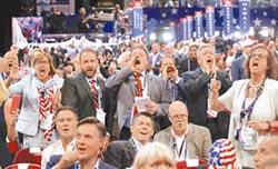 共和黨全代會 場內外都混亂