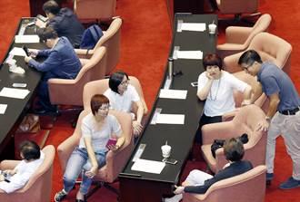 立法院開談話會 民進黨立委提早進場「備戰」