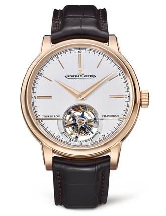 積家   超卓傳統圓柱游絲陀飛輪大師系列腕錶