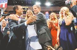 角逐2016白宮寶座 川普正式獲美共和黨提名