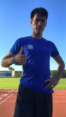 U20世青  楊俊瀚200公尺亞洲第1