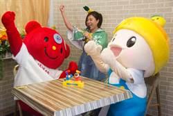 日本「吉祥物之母」 來台探班高通通