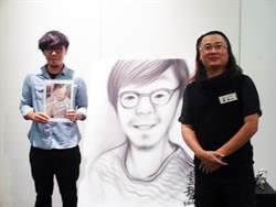 街頭賣畫受感召 蘇家賢3D創作闖出名號