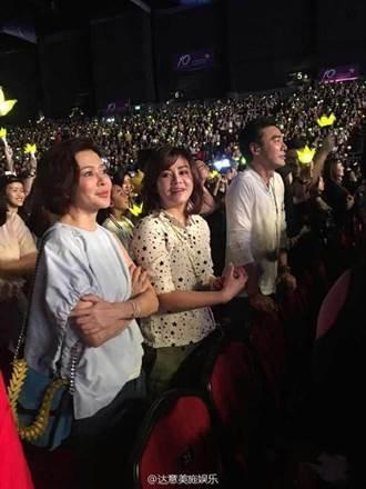 BIGBANG開唱 關之琳鍾鎮濤變小粉絲跟著搖