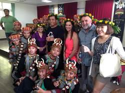毛利族學者遊茂林 驚豔學童傳唱古謠