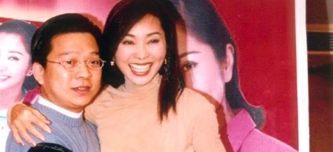 陳美鳳(右)與張富(左)曾交往7年。(本報系資料照)