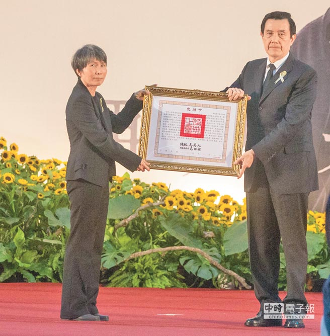 《科學月刊》創辦人林孝信遺孀陳美霞。(本報系資料照片)
