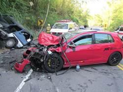 高雄182縣道彎處多 男子駕車疑轉彎失控撞死人
