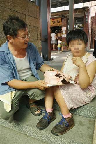 父陪伴腦麻女兒 只願自己活久點