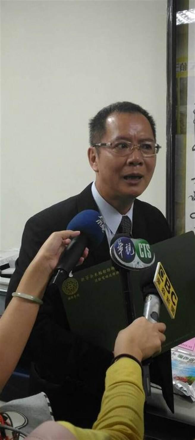 新芳總經理張仁鴻出面呼籲,政府應重視商業秘密遭竊的嚴重性。(劉宥廷攝)