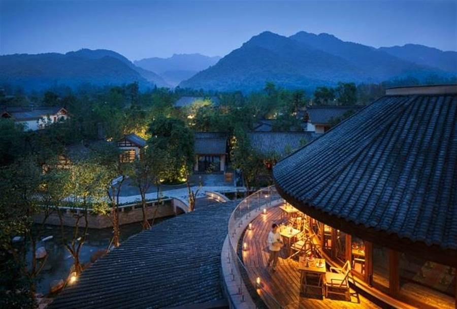 青城山六善度假酒店。(业者提供)