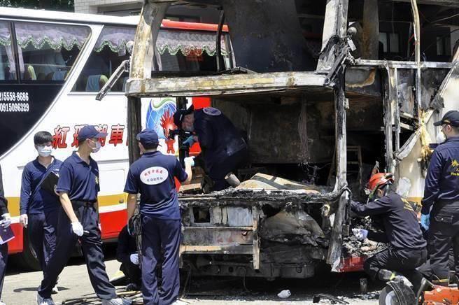 陸客團火燒車意外,檢方證實司機酒駕,確認酒駕是釀禍主因。(本報系資料照,楊明峰攝)