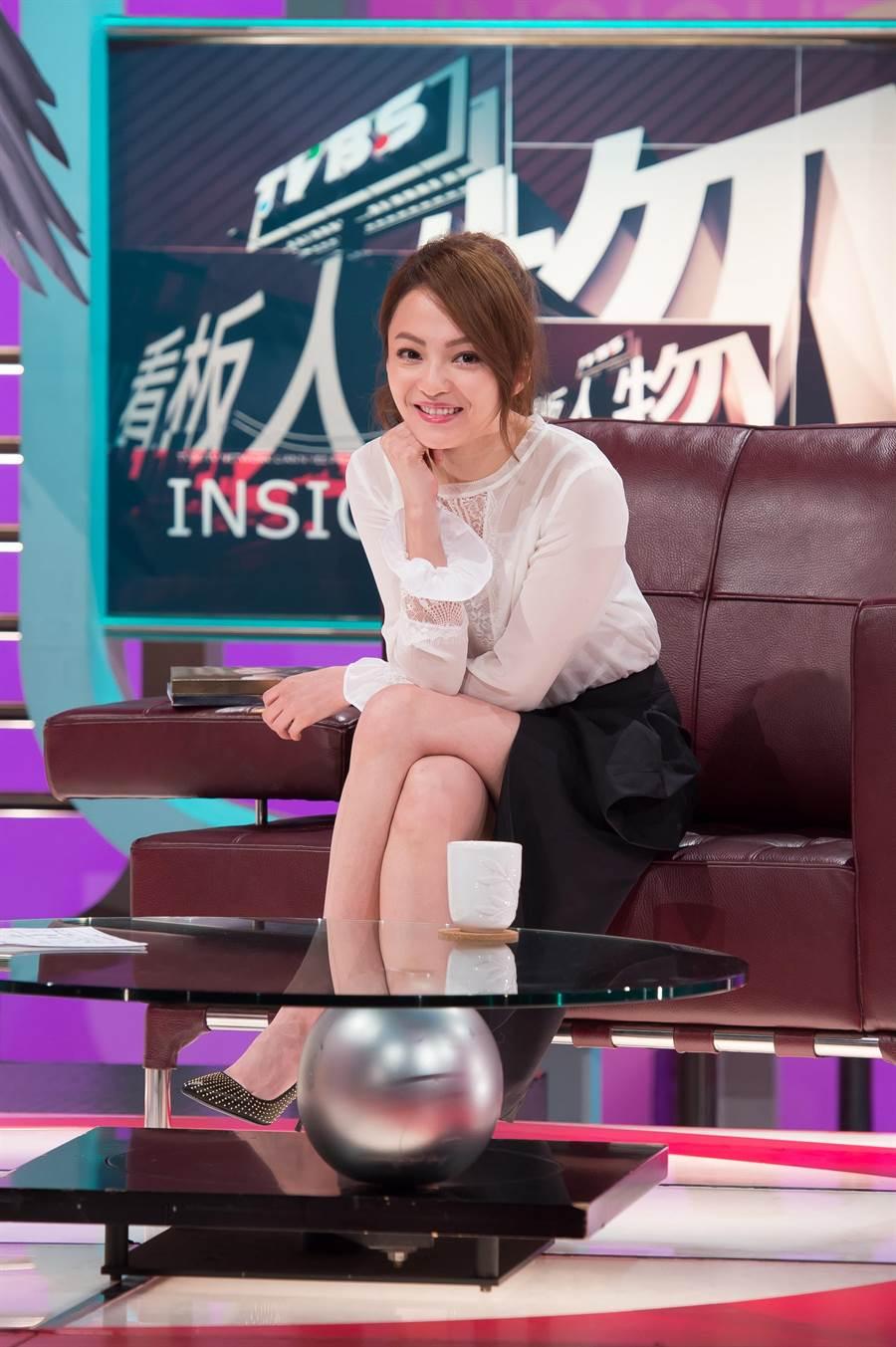 張韶涵上週甫結束小巨蛋演唱會,將首度電視專訪獻給《TVBS看板人物》。(圖片提供:TVBS)