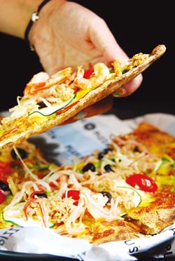 新餐廳-首見自由配披薩店 Plus Pizza台北東區開賣