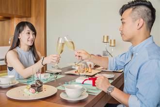 七夕不用花大錢 3折入住頂級套房享情人餐