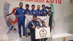 東亞泰拳錦標賽 中華隊2銀4銅