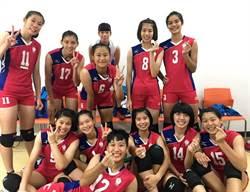 亞青女排》中華不敵韓國 創隊史最差第6