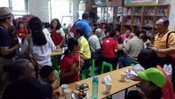 台灣家扶認養人探視蒙古受扶助孩童