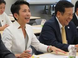 台裔參議員蓮舫 透露出馬競選日本民進黨黨魁