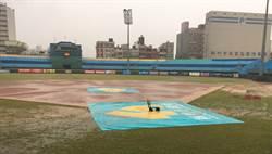 2日犀猿新竹戰 因雨延賽