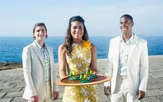 里約奧運》奧運頒獎服敲定:熱帶元素的結合