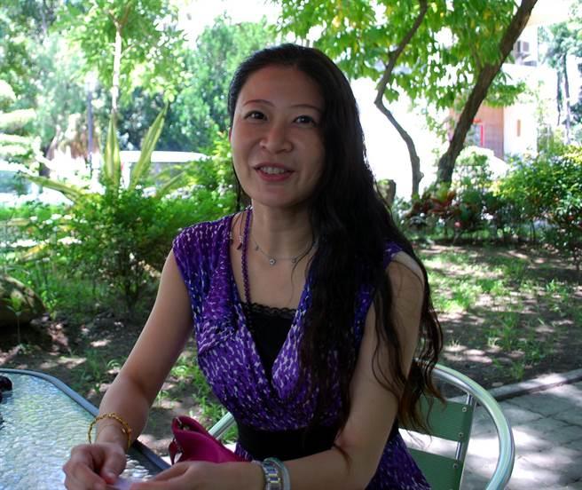 高雄市立空中大學首位、最年輕女校長劉嘉茹上任。(吳江泉攝)