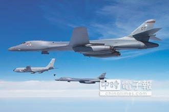 恫嚇北韓、中國 美B-1B進駐關島
