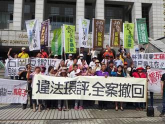 東豐快速路環評爭議 反迫遷自救會抗議