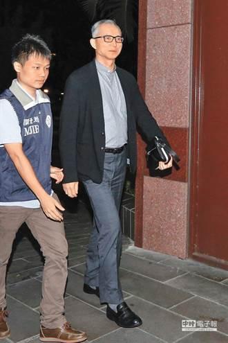 涉內線交易 國寶總裁朱國榮遭延押兩個月